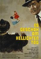 Es geschah am hellichten Tag - German Movie Poster (xs thumbnail)