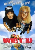 Wayne's World - German Movie Poster (xs thumbnail)