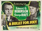 A Bullet for Joey - British Movie Poster (xs thumbnail)