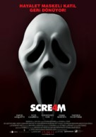 Scream 4 - Turkish Movie Poster (xs thumbnail)