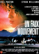 One False Move - French Movie Poster (xs thumbnail)