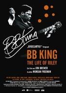 BB King: The Life of Riley - German Movie Poster (xs thumbnail)