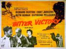 Bitter Victory - British Movie Poster (xs thumbnail)