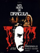 Nachts, wenn Dracula erwacht - French Movie Poster (xs thumbnail)