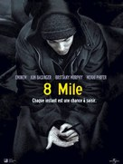 8 Mile - French Movie Poster (xs thumbnail)