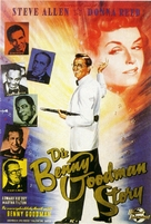 The Benny Goodman Story - German Movie Poster (xs thumbnail)