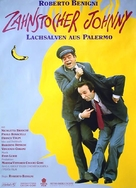 Johnny Stecchino - German Movie Poster (xs thumbnail)