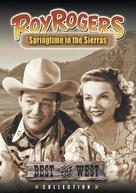 Springtime in the Sierras - DVD cover (xs thumbnail)
