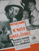 Mr. Moto Takes a Chance - French poster (xs thumbnail)