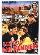 Under Two Flags - Italian Theatrical poster (xs thumbnail)