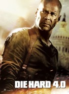 Live Free or Die Hard - Danish Movie Poster (xs thumbnail)