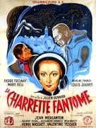 La charrette fantôme - French Movie Poster (xs thumbnail)