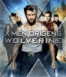 X-Men Origins: Wolverine - Brazilian Blu-Ray cover (xs thumbnail)