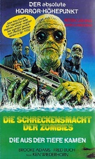 Shock Waves - German VHS cover (xs thumbnail)