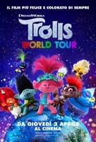 Trolls World Tour - Italian Movie Poster (xs thumbnail)