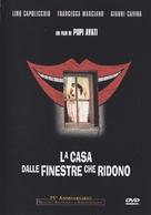 La casa dalle finestre che ridono - Italian DVD cover (xs thumbnail)