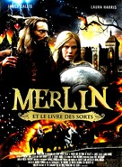 Merlin and the Book of Beasts - French DVD cover (xs thumbnail)