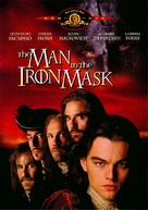 The Man In The Iron Mask - DVD cover (xs thumbnail)