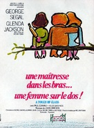 A Touch of Class - French Movie Poster (xs thumbnail)