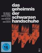 L'uccello dalle piume di cristallo - German Blu-Ray cover (xs thumbnail)