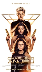 Charlie's Angels - Slovak Movie Poster (xs thumbnail)