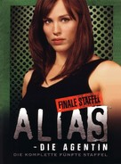 """Alias"" - German DVD movie cover (xs thumbnail)"