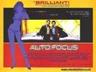 Auto Focus - British Movie Poster (xs thumbnail)