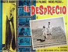 Le mépris - Spanish poster (xs thumbnail)