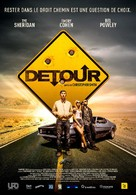 Detour - French Movie Poster (xs thumbnail)