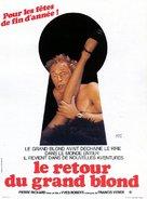Le retour du grand blond - French Movie Poster (xs thumbnail)