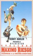 Cliffhanger - Spanish VHS movie cover (xs thumbnail)
