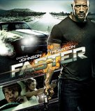 Faster - Japanese Blu-Ray cover (xs thumbnail)