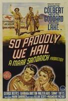 So Proudly We Hail! - Australian Movie Poster (xs thumbnail)