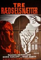 I tre volti della paura - Danish Movie Poster (xs thumbnail)
