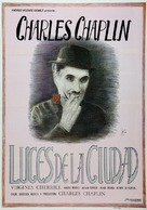 City Lights - Spanish Movie Poster (xs thumbnail)