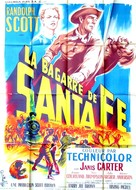 Santa Fe - French Movie Poster (xs thumbnail)