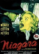 Niagara - Spanish Movie Poster (xs thumbnail)