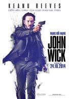 John Wick - Vietnamese Movie Poster (xs thumbnail)
