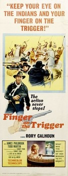 Finger on the Trigger - Movie Poster (xs thumbnail)