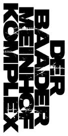 Der Baader Meinhof Komplex - German Logo (xs thumbnail)