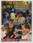 Seven Sinners - Belgian Movie Poster (xs thumbnail)
