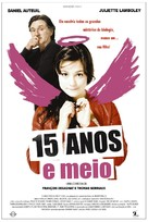 15 ans et demi - Brazilian Movie Poster (xs thumbnail)