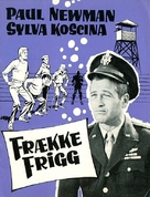 The Secret War of Harry Frigg - Danish Movie Poster (xs thumbnail)