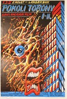 The Towering Inferno - Hungarian Movie Poster (xs thumbnail)