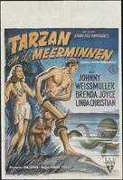 Tarzan and the Mermaids - Dutch Movie Poster (xs thumbnail)