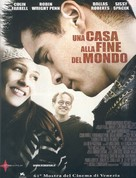A Home at the End of the World - Italian Movie Poster (xs thumbnail)