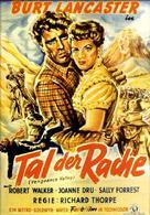 Vengeance Valley - German Movie Poster (xs thumbnail)