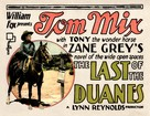 The Last of the Duanes - Movie Poster (xs thumbnail)