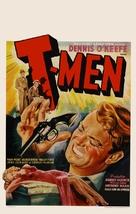 T-Men - Belgian Movie Poster (xs thumbnail)