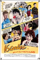 Sixteen Candles - Movie Poster (xs thumbnail)